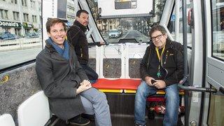 Comment les navettes autonomes vont s'adapter à la circulation de Sion