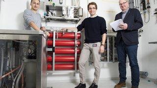Une start-up issue de l'EPFL Valais invente un nouveau type de stockage longue durée
