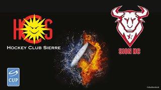 HC SIERRE vs HC SION - finale régionale - qualification Coupe Suisse 2018/2019
