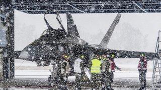 WEF de Davos: Sion deuxième base de dégagement pour les jets militaires