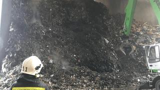 Monthey: incendie nocturne à la SATOM