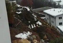 4 janvier 2018: Glissement de terrain à Savièse