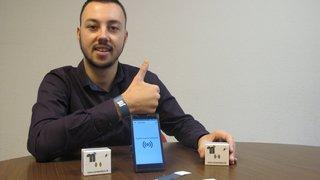 Le Lidderain Jérémy Michaud met au point un nouveau système de paiements par bracelets connectés