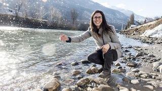 Mélanie Pitteloud amène un nouveau regard poétique sur le Rhône