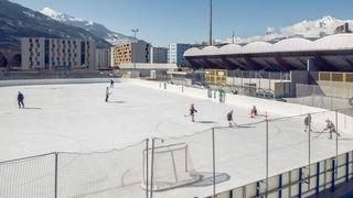 Sion: la patinoire de Tourbillon de nouveau fermée à cause des caprices de la météo