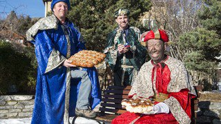 Les rois mages font halte dans les villages de Savièse