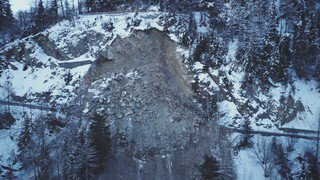 Eboulement: le col de la Forclaz fermé jusqu'en mars