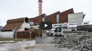 Qu'est-ce qui se cache derrière les murs de l'UTO, usine de traitement des ordures à Sion? Nous sommes allés voir