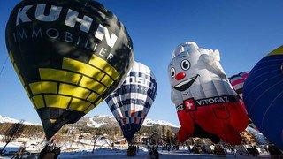 Rassemblement de montgolfières à Crans-Montana