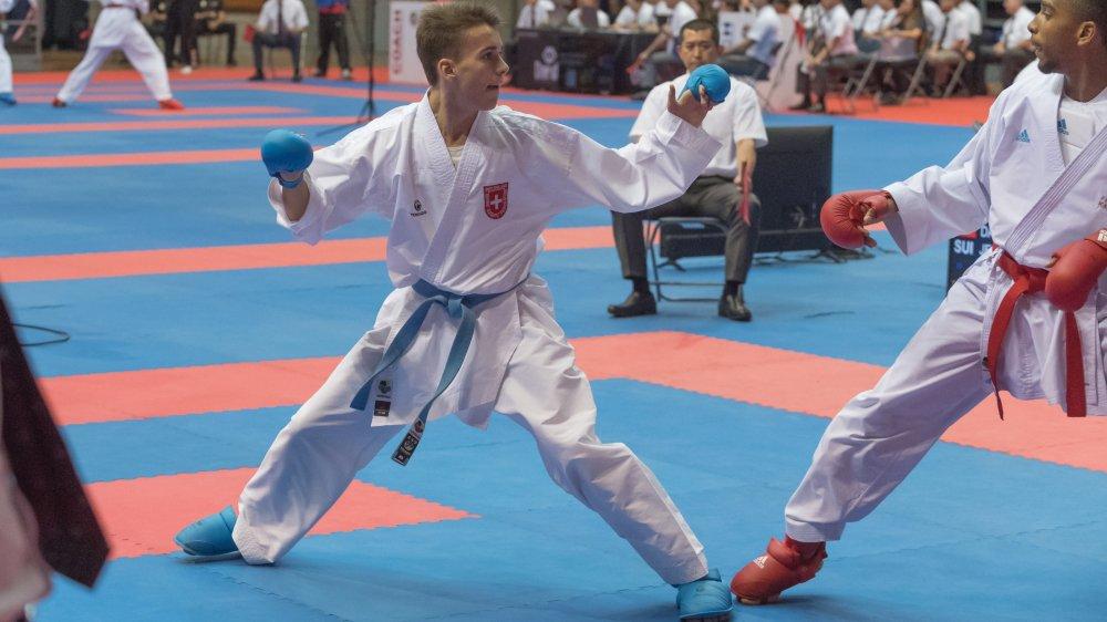 Jean-Baptiste Dayer fera partie des favoris dans la catégorie U18 moins de 68 kilos.
