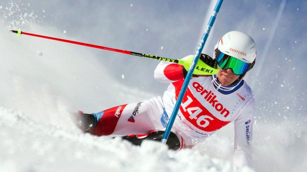 Maxime Glassey fonce vers les catégories FIS dans lesquelles il s'élancera l'hiver prochain.