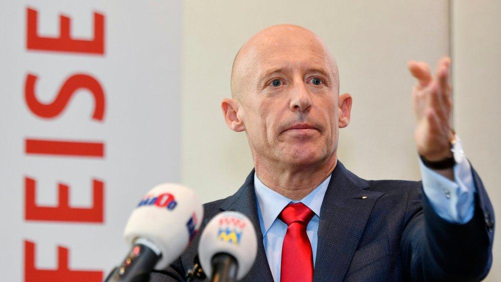 Patrik Gisel, patron de Raiffeisen, a exclu de démissionner à cause de l'affaire Pierin Vincenz.