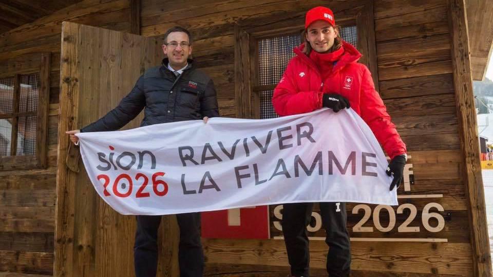 """Frédéric Favre: """"En Corée, Sion 2026 est favori"""""""
