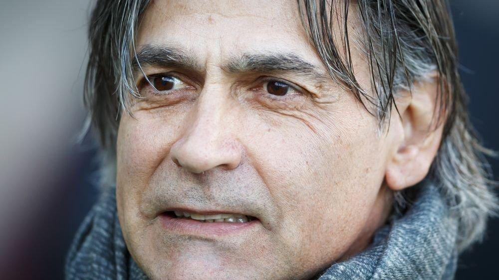 Maurizio Jacobacci occupe le banc de touche du FC Sion depuis le 5 février.