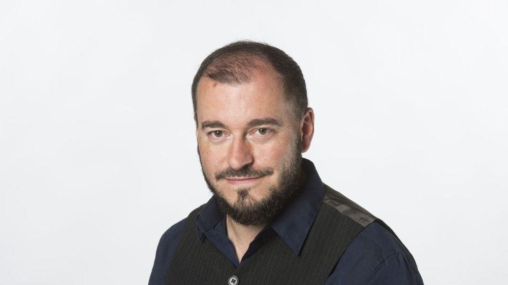 Jean-François Albelda, responsable de la rubrique Culture du Nouvelliste.