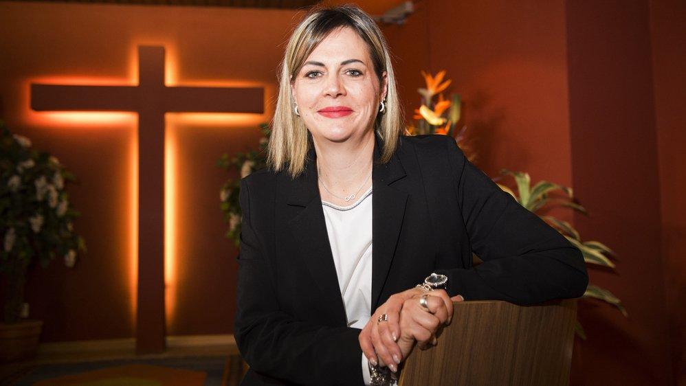 Sarah Eggs Spano vient d'obtenir un brevet fédéral mis sur pied par l'association suisse des services funéraires.