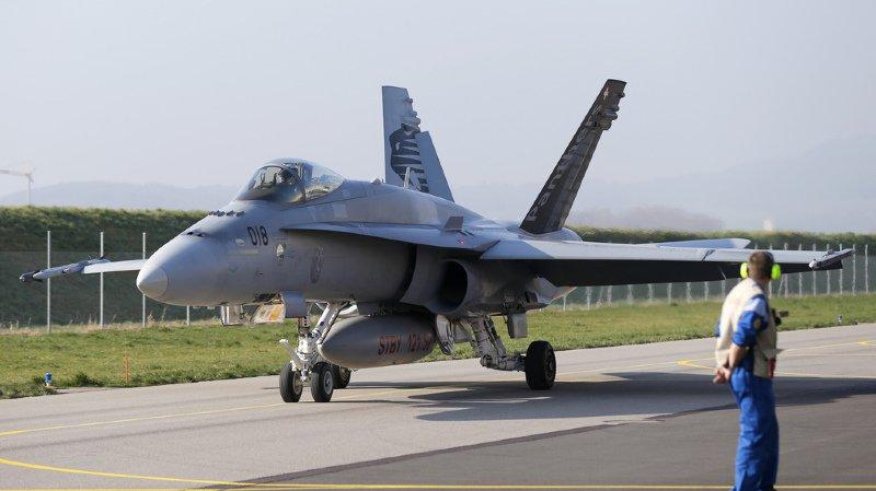 Forces aériennes: tous les F/A-18 soumis à un contrôle de sécurité préventif avant de reprendre l'air