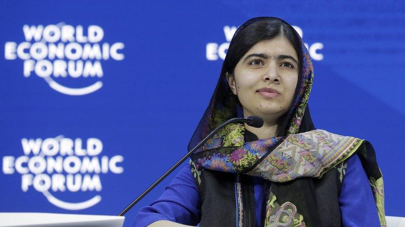 """WEF 2018: Malala appelle les femmes à """"changer le monde"""" par elles-mêmes"""