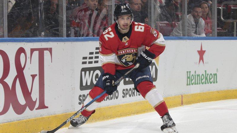 Denis Malgin a largement contribué au succès 7-5 des Florida Panthers sur la glace des Edmonton Oilers en NHL.