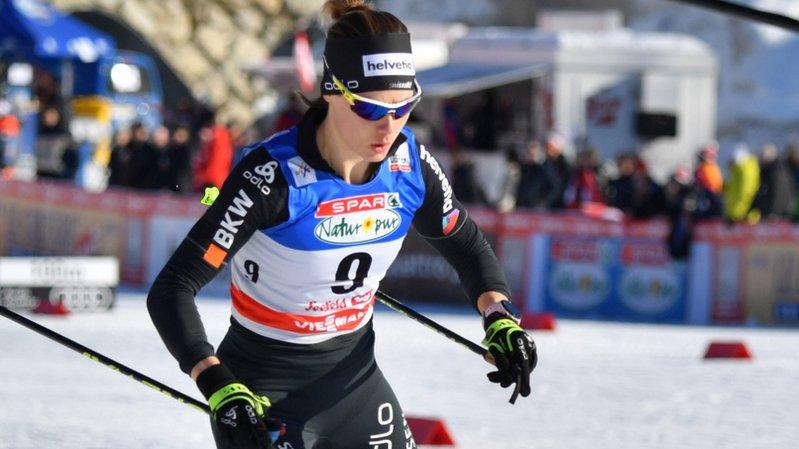 Ski nordique: Laurien van der Graaff fête son deuxième succès en Coupe du monde à Seefeld