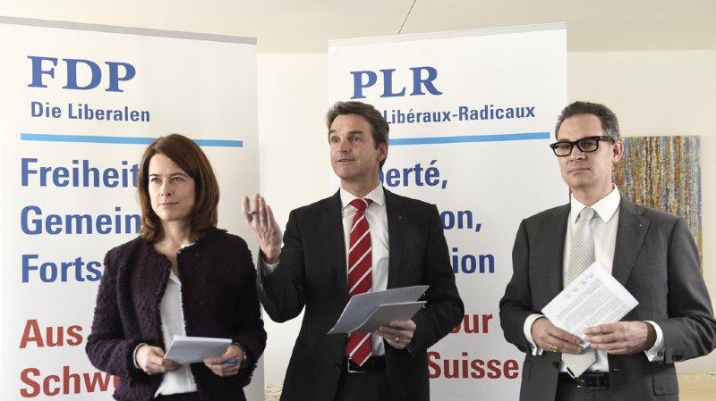 Les libéraux-radicaux suisses disent oui à la voie bilatérale, si la Suisse y gagne