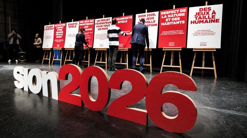 Jeux Olympiques: les Suisses s'opposent nettement au projet Sion 2026