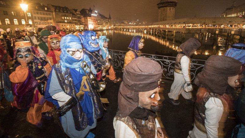 La folie carnavalesque a pris possession des cantons catholiques