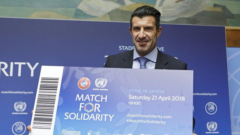 """Le président de l'UEFA Aleksander Ceferin s'est réjoui de ce partenariat avec l'ONU pour """"la bonne cause"""". En cas de succès, le match pourrait être répété chaque année, a affirmé de son côté le directeur général de l'ONU à Genève Michael Møller."""