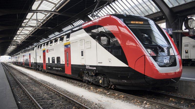 CFF: les nouveaux trains à deux étages circulent entre Berne et Zurich