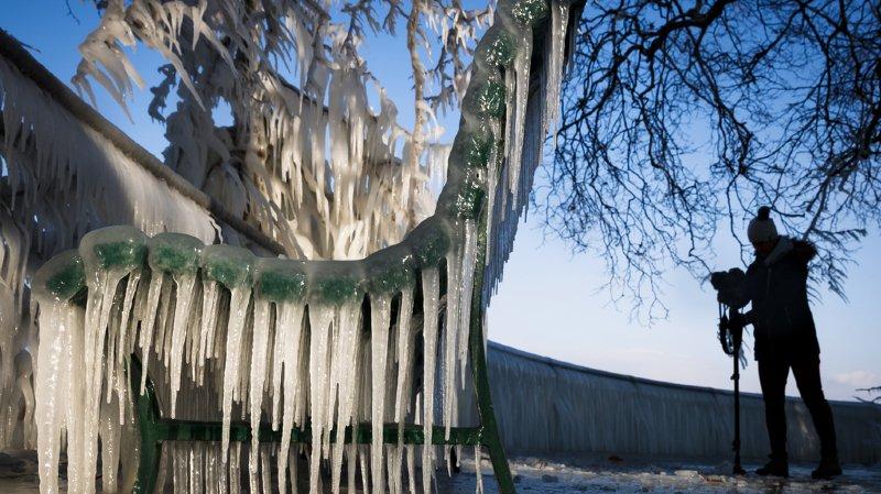 Météo: frappée par un froid glacial, la Suisse a grelotté ce lundi
