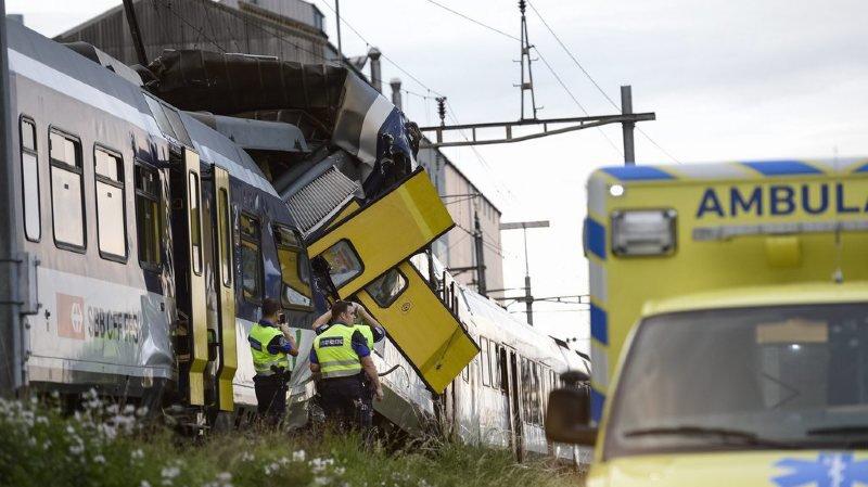 Drame de Granges-Marnand: le conducteur du train fait appel de sa peine