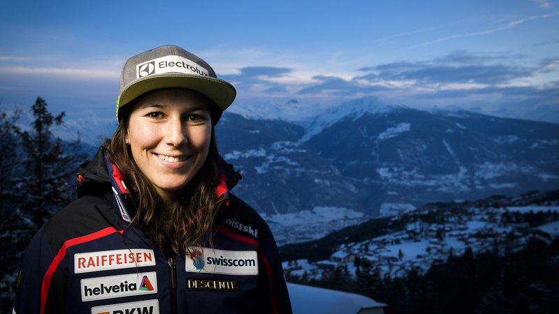"""Ski alpin - Crans-Montana: """"Je fêterai vraiment au printemps"""", dixit Wendy Holdener"""