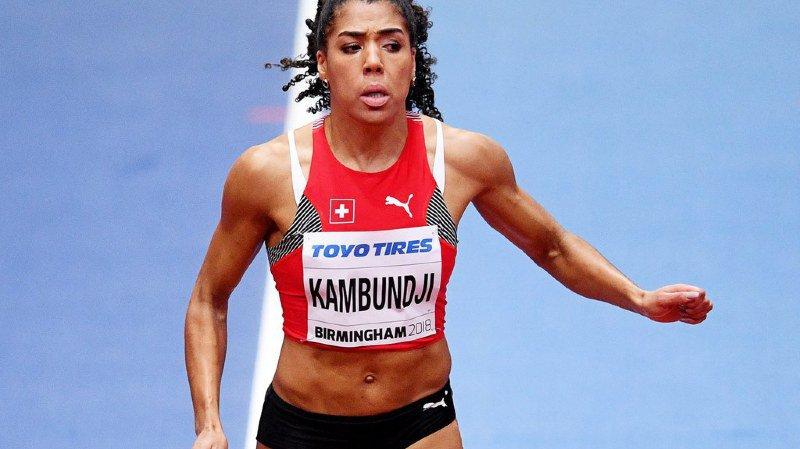 Kumbundji a fusé en 7''05. Elle disputait sa première finale planétaire.