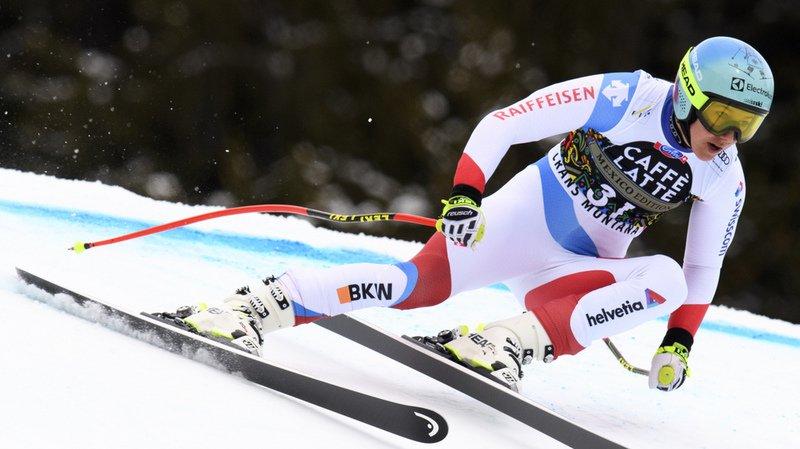 Ski alpin: Wendy Holdener termine 3e du super-G de Crans-Montana remporté par Tina Weirather