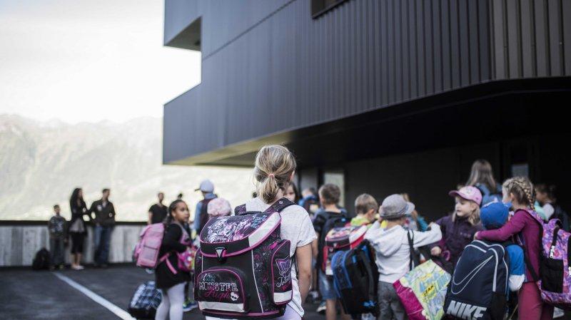 Valais: le calendrier scolaire va être modifié