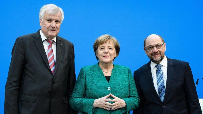 Angela Merkel prête à des