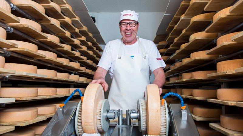 Michel Métrailler est fromager aux Haudères depuis trente-sept ans.