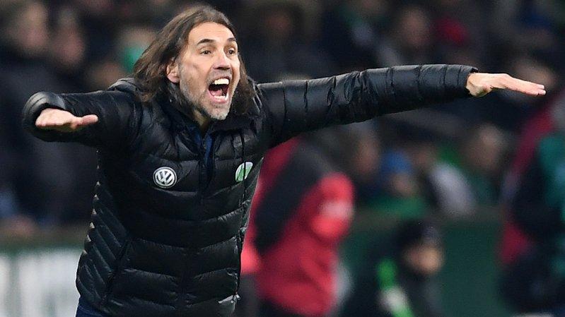 Martin Schmidt ne s'engage plus sur le banc de touche du VL Wolfsburg.