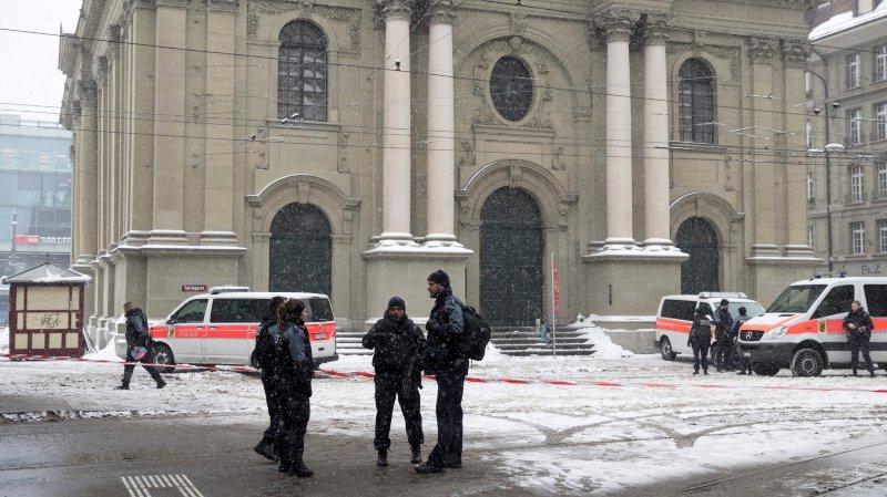Alerte à la bombe à Berne, une arrestation — Suisse