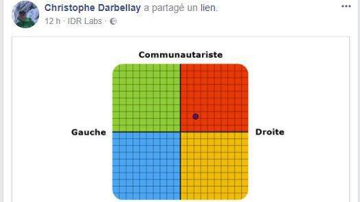 Le test politique réalisé par le conseiller d'Etat Christophe Darbellay