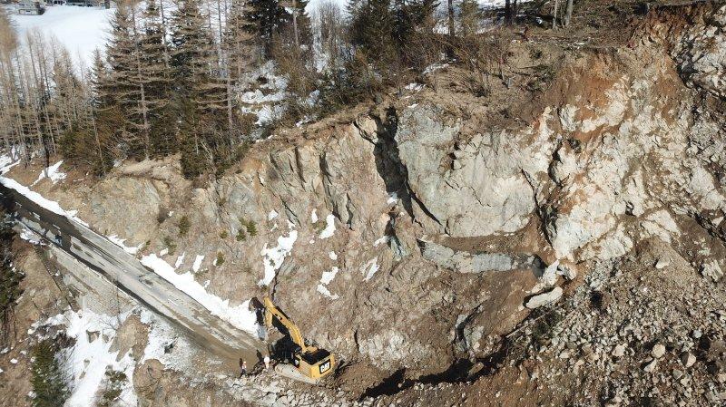Intempéries en Valais: il faudra un crédit extraordinaire pour réparer les routes