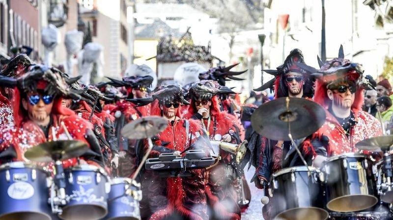 Où faire carnaval dans la région de Sion?
