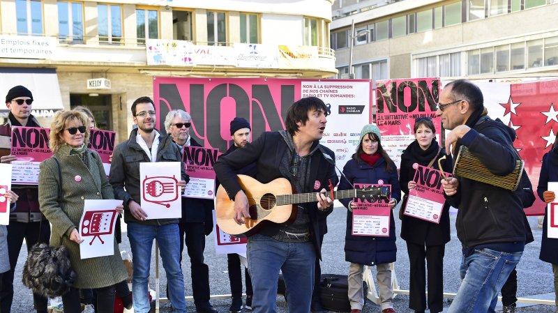 Sion: les artistes valaisans se mobilisent contre No Billag