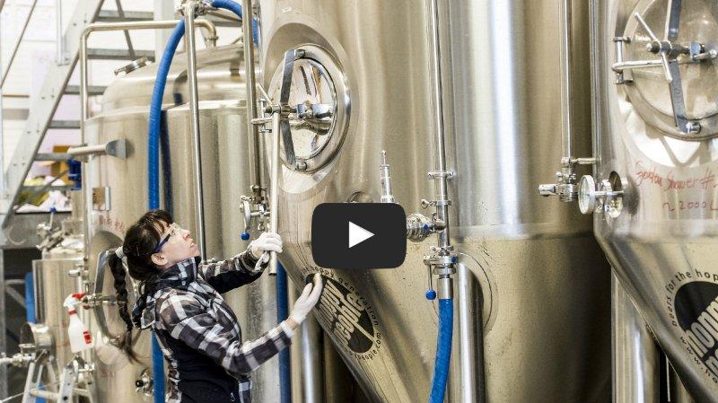 Valais: comment Hoppy People, meilleure nouvelle brasserie de Suisse, fabrique-t-elle sa bière? Découverte à Sierre