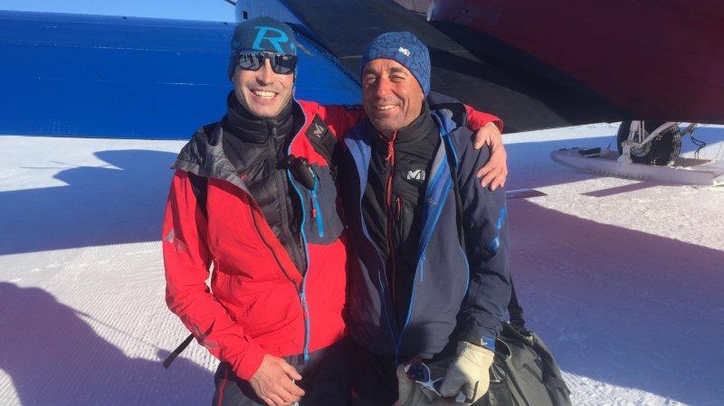 Deux guides valaisans racontent leur mission en Antarctique