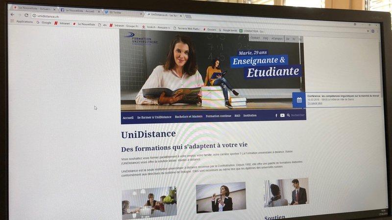 UniDistance forme un nombre record d'étudiants.