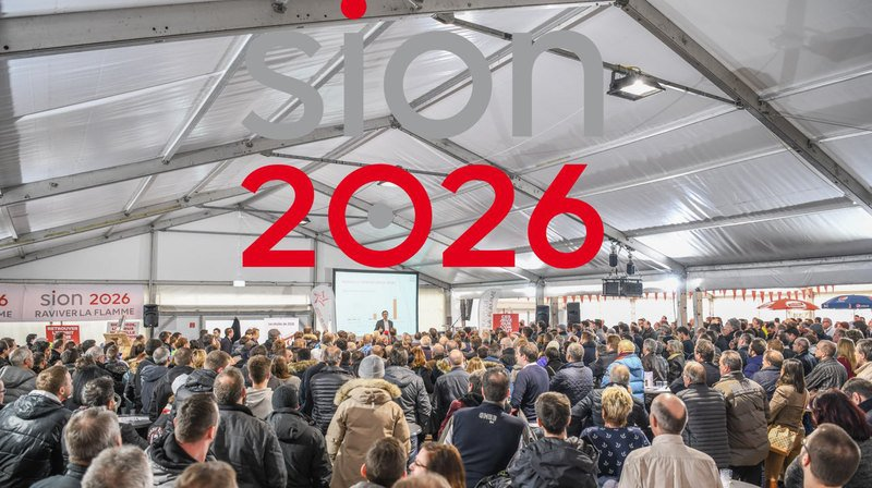 Mille personnes ont entendu le conseiller d'Etat Frédéric Favre présenter le projet Sion 2026.