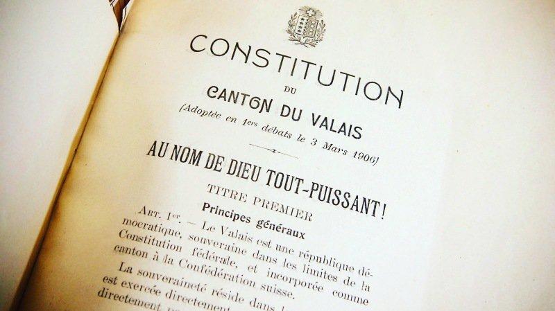 Constituante valaisanne: sept conseillers d'Etat et la fin des districts?