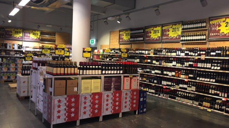 En 2017, la vente des vins valaisans est resté stable dans les grandes surfaces du pays.