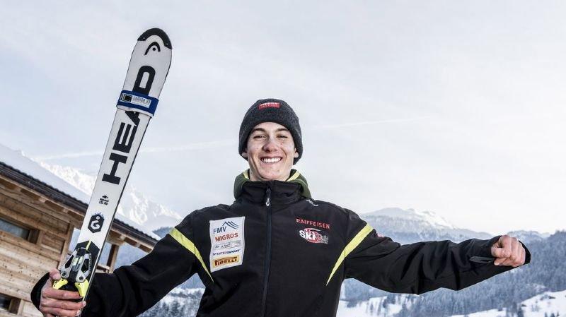 Luc Roduit se réjouit de participer aux championnats de Suisse de super-G à domicile sur les pistes de Verbier.